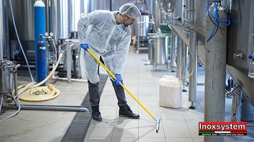La pulizia dei pavimenti ha un nuovo alleato: nasce Inoxsystem® Total Hygienic