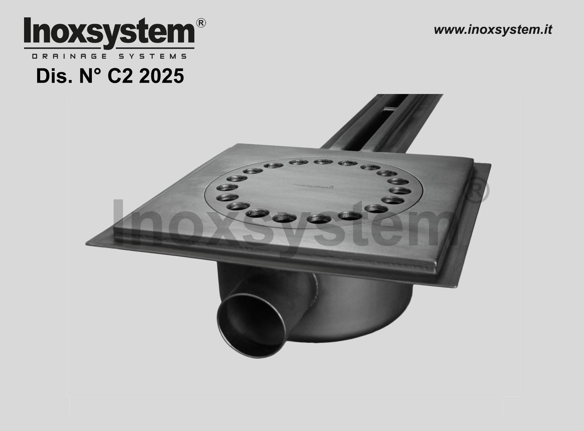 bordo porta guaina per canale a fessura standard in acciaio inox