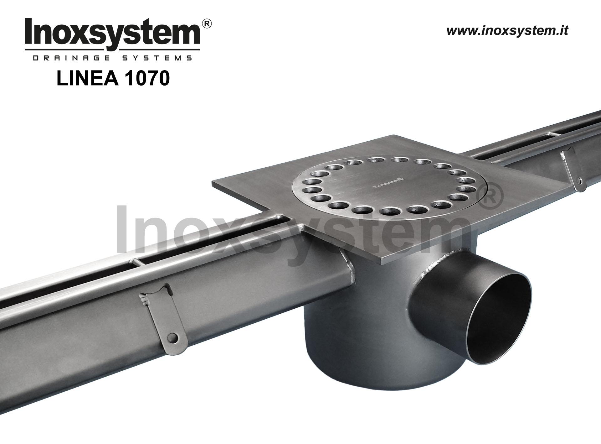 Caniveaux à fente acier inoxydable section hydraulique supérieure