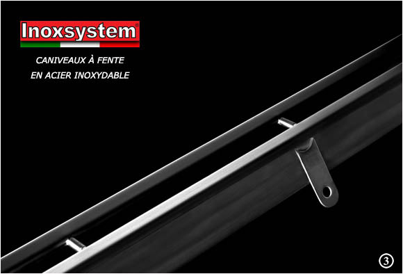 Stainless steel slot channel