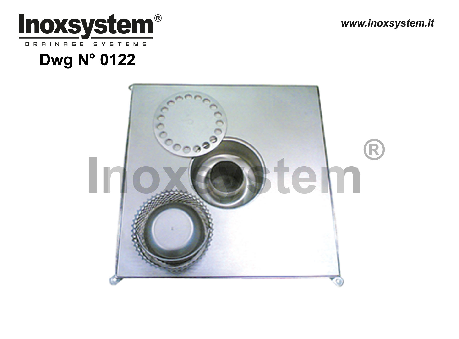 Stainless steel manhole covers with sub-frame and gully heavy series
