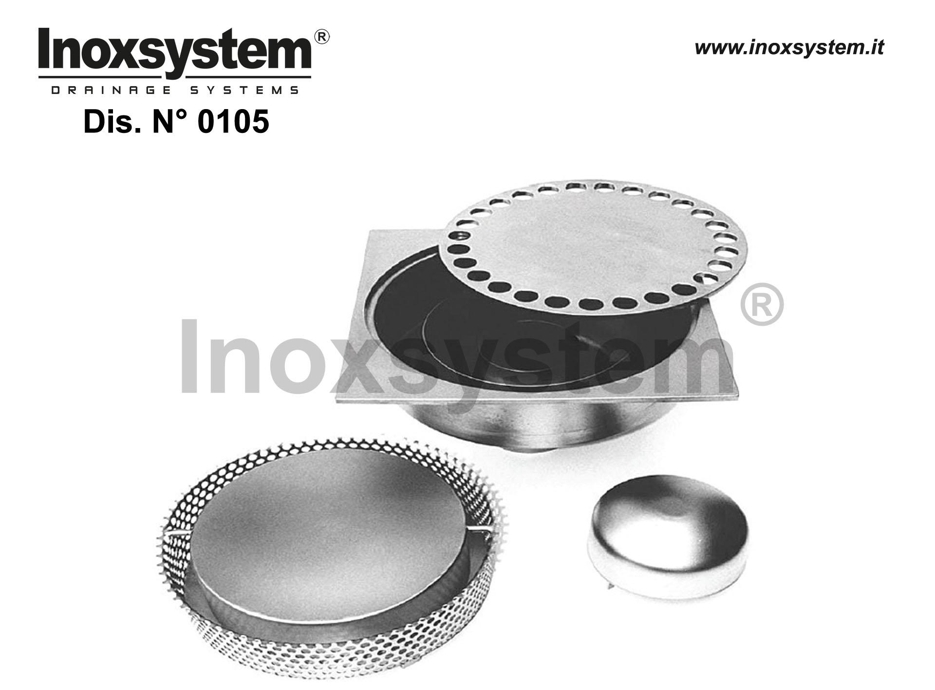 Siphons de sol à sortie verticale et à double siphon en acier inoxydable