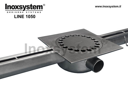 standard stainless steel slot channel with floor drain