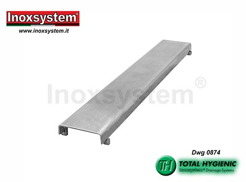 Inoxsystem® Total Hygienic Design grating made of stainless steel – antibacterial LINE 0874
