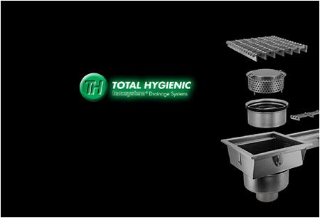 Linea Total Hygienic chiusini griglia in acciaio inox